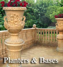 Browse our Marble Planters and Bases