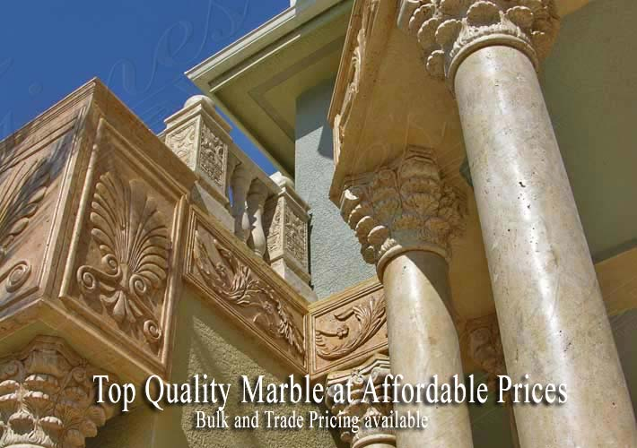 Top Quality Custom Made Architectural Marble Products